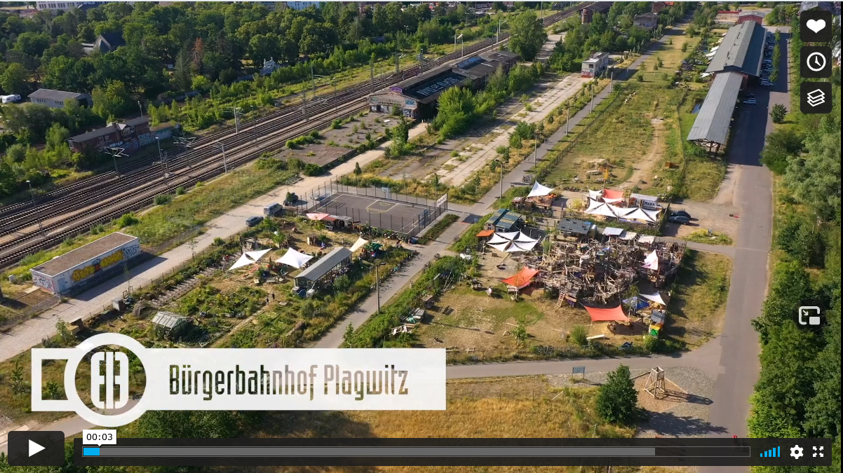 EU-RegioStars Awards Bürgerbahnhof, Startbild Video
