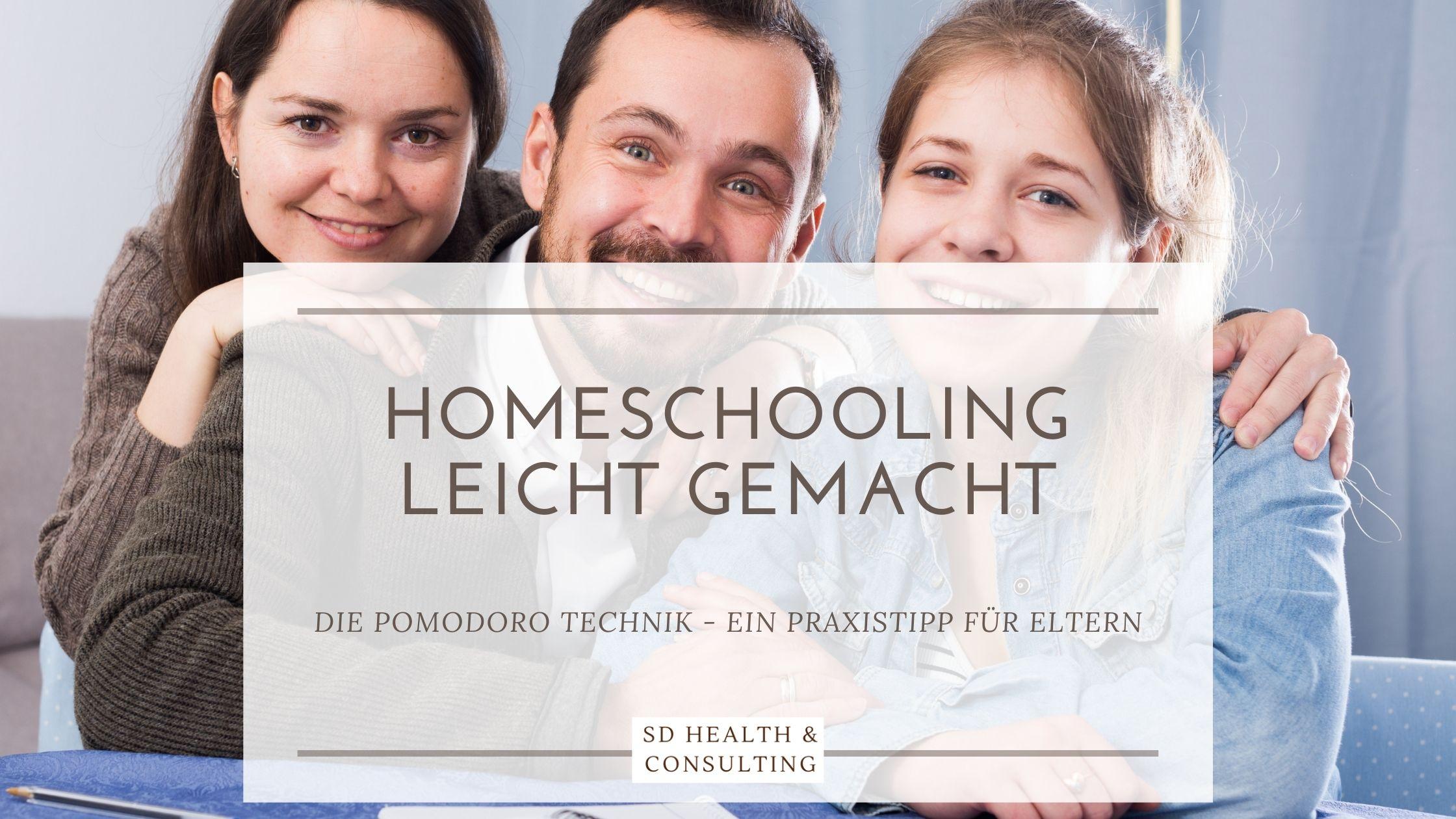 Homeschooling, Pomodoro