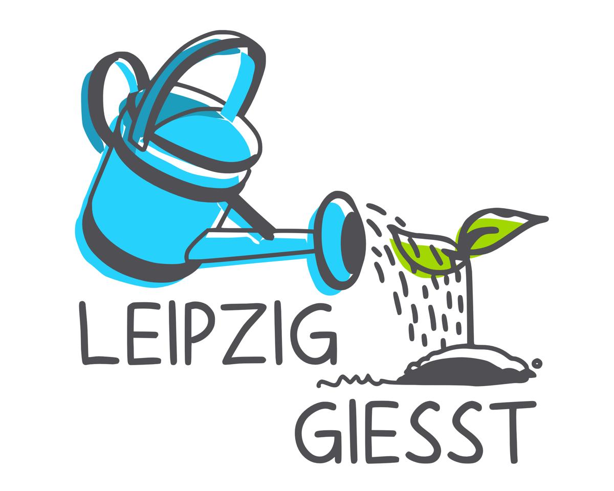 LEIPZIG GIESST, Logo