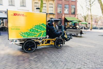 Bild: Lastenrad der DHL (Philipp Boehme)